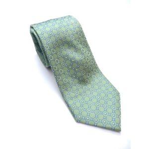 Tommy Hilfiger Green Blue Tie